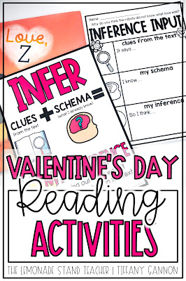 Valentines Day Reading Activities | Valentines Day Craft | Love Z Read Aloud Activities and Craft