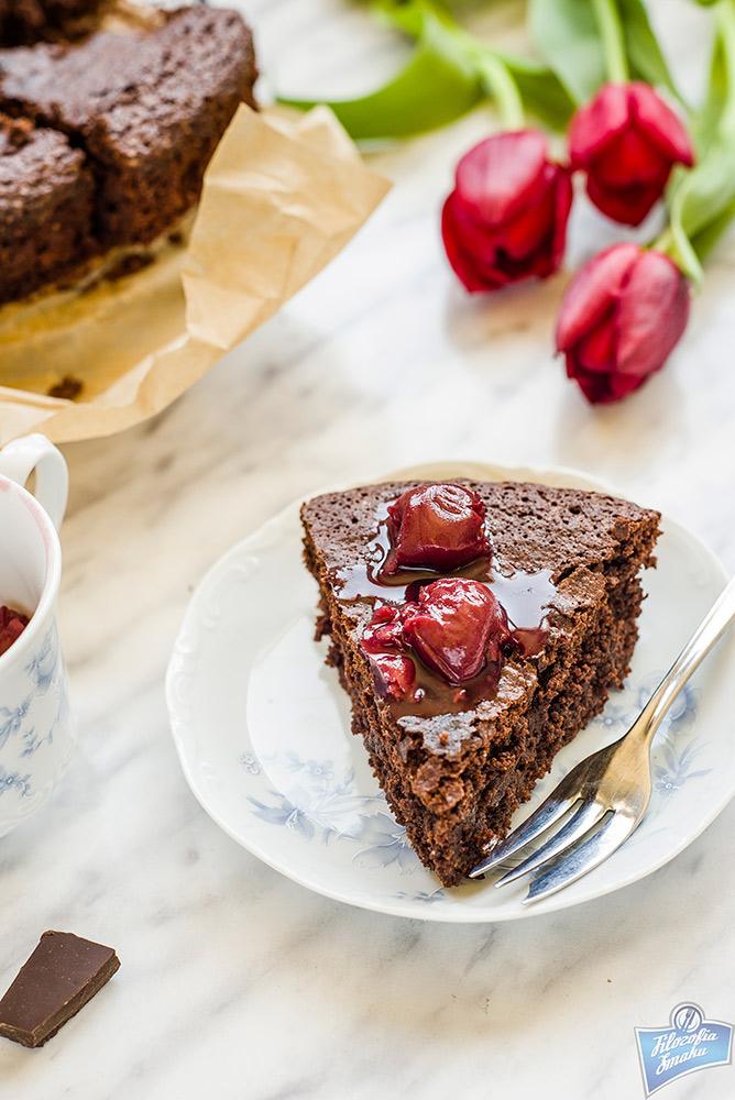 Ciasto bez glutenu z czekoladą