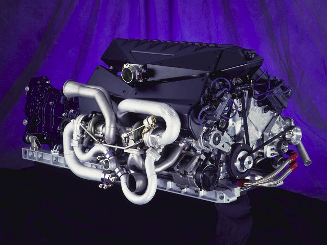 Ford GT90 V12 Engine