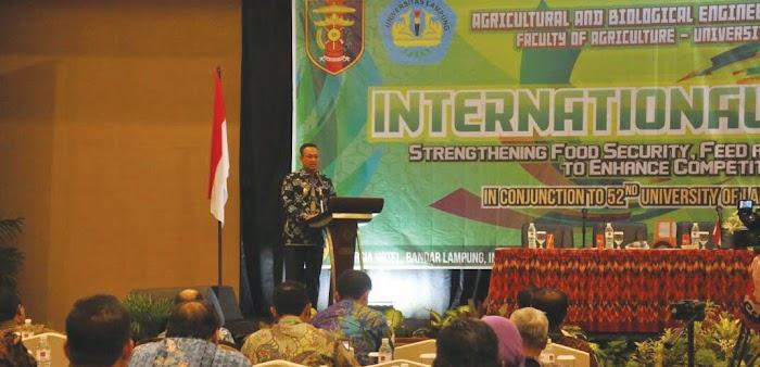 Lampung Berkontribusi Dukung Kedaulatan Pangan Nasional