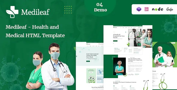 Best Health and Medical HTML Template