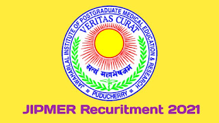 JIPMER Recruitment 2021   Various Biostatistician Post   Apply Online