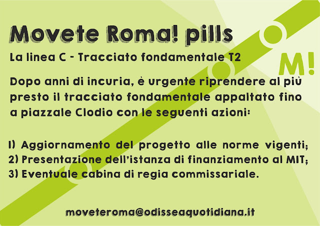 Movète Roma Pillola, numero 1, la Metro C