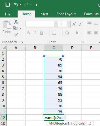 Kumpulan Rumus Dasar Excel Terlengkap