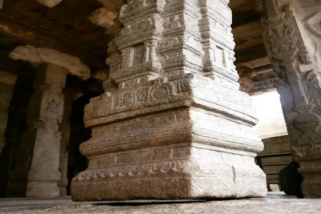 veerabhadra temple lepakshi hanging pillar