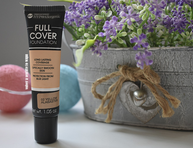 Full Cover Foundation Hypoallergenic de BELL