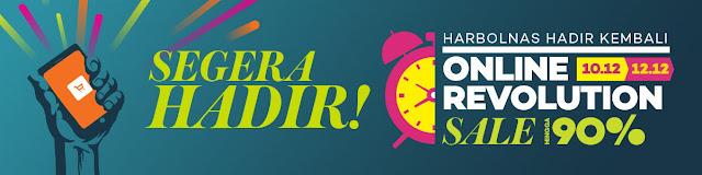 Online Revolution di Lazada.co.id Bikin Acara Belanjamu Makin Seru!