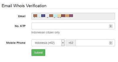 verifikasi no ktp