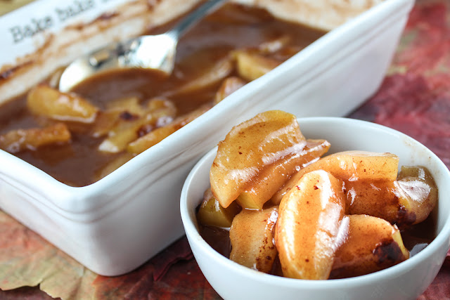 Copycat Honey Baked Ham Cinnamon Baked Apples