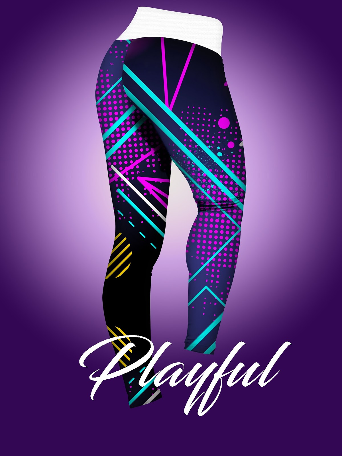 Vibrant leggings mock up blue leggings stylish leggings purple leggings playful leggings premium leggings photoshop mock up colorful leggings download