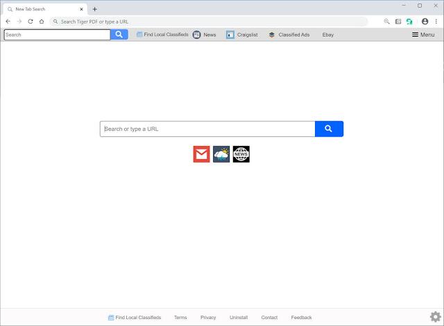 Search.findlocalclassifiedstab.com (Hijacker)