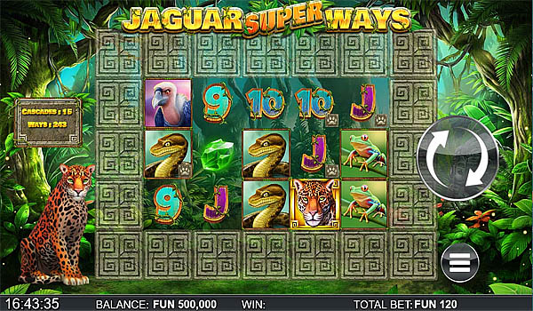 Main Gratis Slot Indonesia - Jaguar Super Ways Yggdrasil