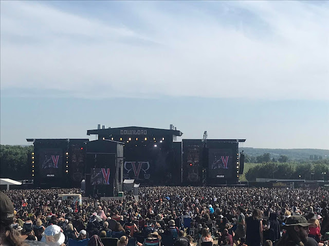 Black Veil Brides at Download UK 2018
