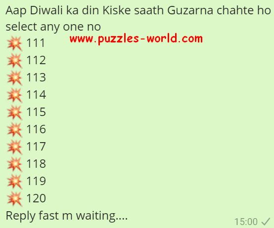 Whatsapp Puzzles World, Quiz, Games, Riddles And Messages