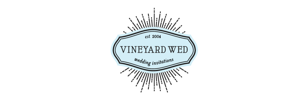 CUSTOM WATERCOLOR WEDDING INVITATIONS | VINEYARD WED