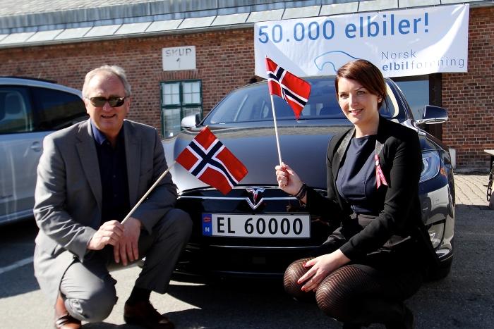 Carro elétrico na Noruega