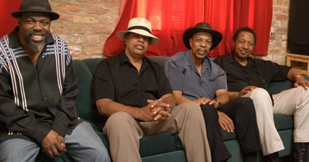 Lurrie Bell, Billy Branch, John Primer and Billy Boy Arnold - photo: Mark R. Mahar