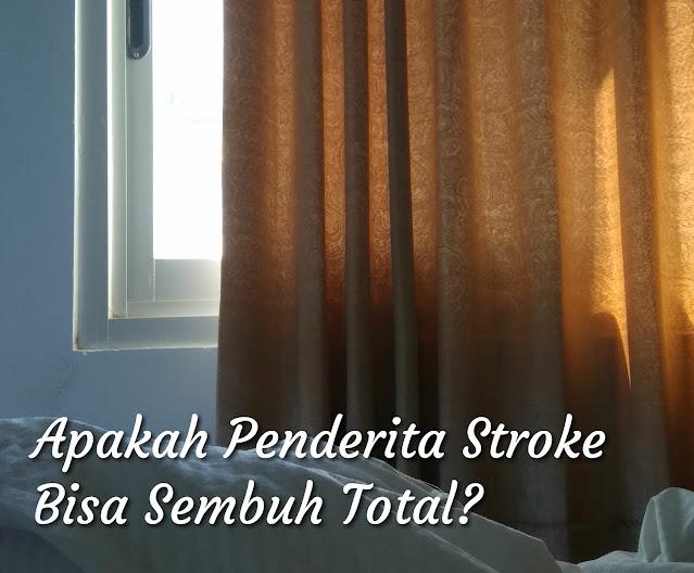 Apakah penyakit stroke bisa sembuh