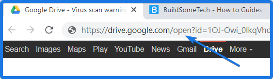 Change URL to Bypass Google Drive Download Limit