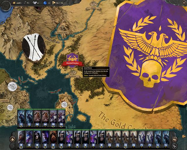 Blood Oak Bow Location Screenshot - Fantasy General 2: Invasion