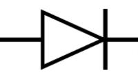رمز الدايود على الماذربورد