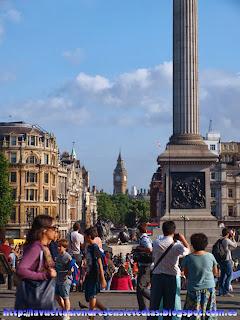 Avenida de Whitehall desde Trafalgar Square