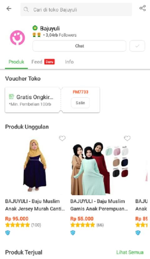 Bajuyuli Menjadi Toko Baju Anak Terlaris di Shopee
