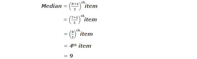 Example 1: Median