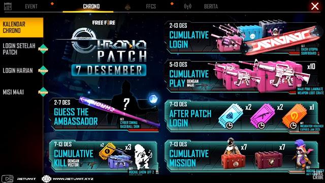 operation Chrono Free Fire