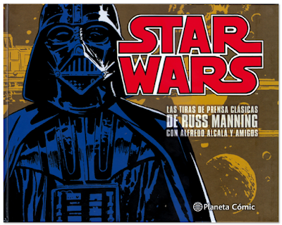 Star Wars las tiras de prensa clásicas de Russ Manning Planeta Comic