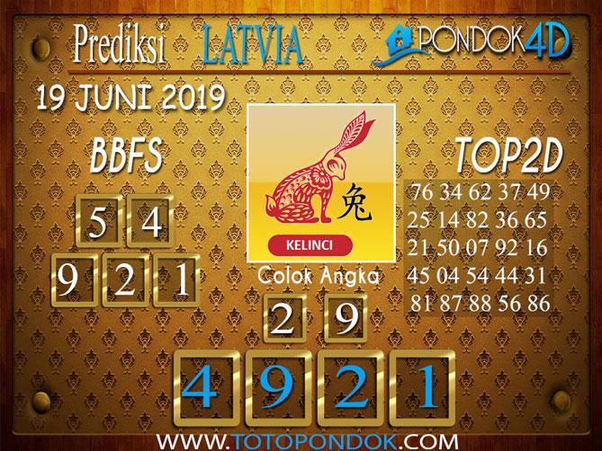 Prediksi Togel LATVIA PONDOK4D 20 JUNI 2019
