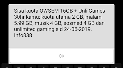 Review Paket Axis 4G OWSEM Ramadhan Unlimited Gaming