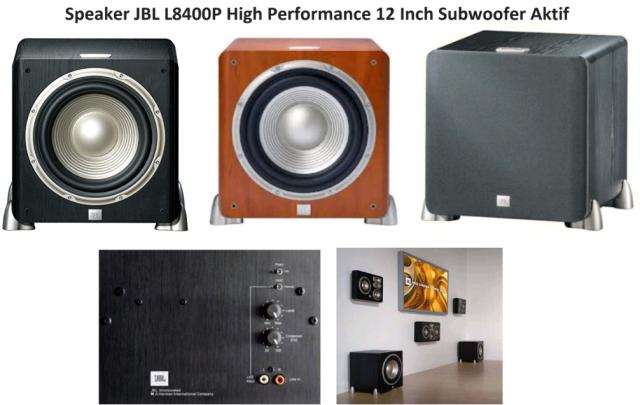 Harga Speaker Subwoofer Aktif JBL L8400P