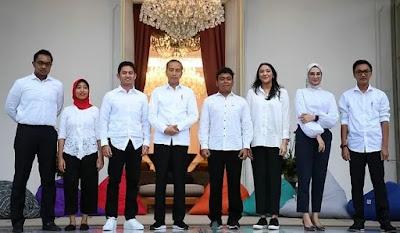 Ini Daftar Nama Staf Khusus Presiden Jokowi, Semuanya Milenial