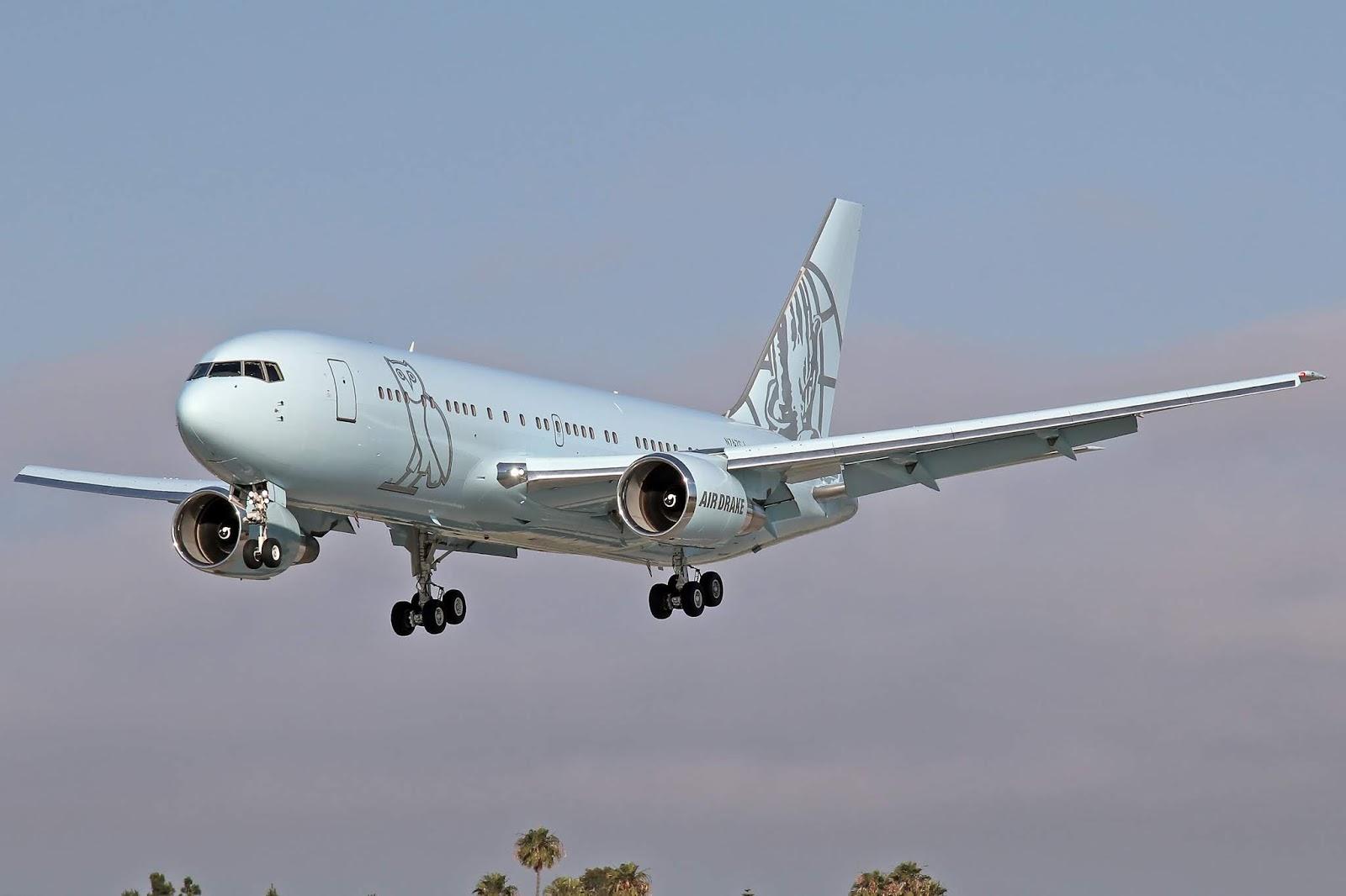 Aero Pacific Flightlines Elan Express Boeing 767 24q Er