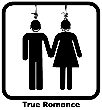 'True Romance' - Suicide pictogram