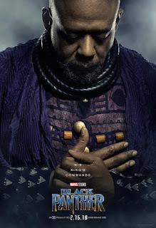 """Pósters de personaje de """"Black Panther"""" - Marvel Comics"""