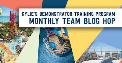 Kylie's Demonstrator Training Program Team Blog Hop