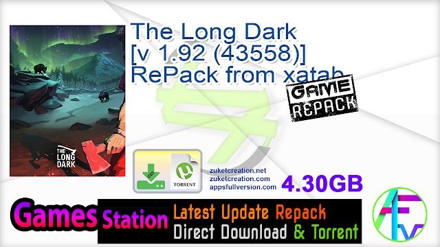 The Long Dark [v 1.92 (43558)] RePack from xatab