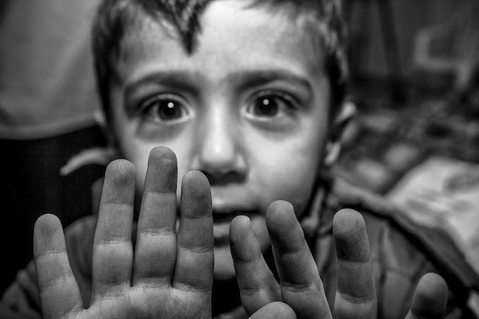 A realidade de crianças refugiadas é tema de exposição na Matilha Cultural