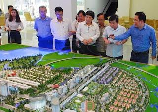 bán đấu giá quyền sử dụng 9 lô đất tại khu đô thị mới Thủ Thiêm