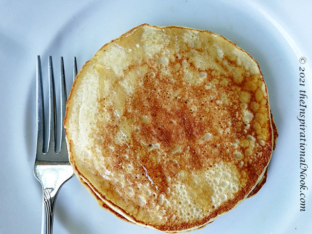 Whole wheat pancakes, Aasshirvaad Sharbati atta pancakes, American pancakes,