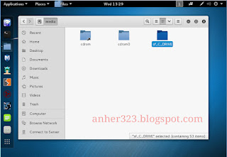 Shared Folder Windows 7 ke Kali Linux