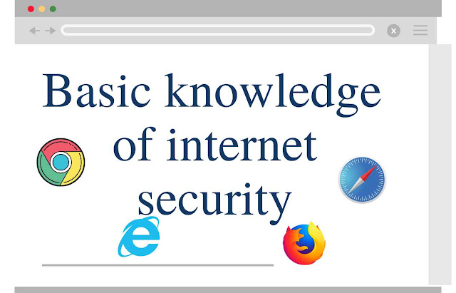Basic knowledge of internet security