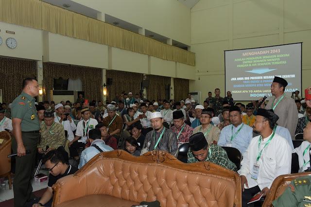 Panglima TNI Ceramah Dihadapan 300 Peserta Munas ke-2 Ikadi