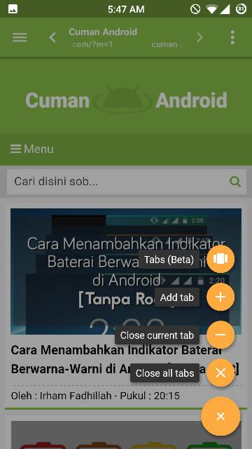 Slimperience : Browser Mini Dengan Performa yang Joss Banget, Buruan Coba Sob. [Gratis]