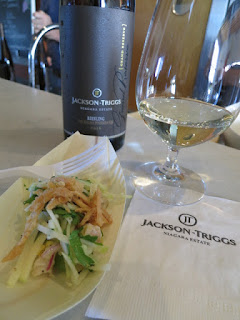 Pacific Snapper Ceviche and Niagara Apple Slaw with 2016 Jackson-Triggs Grand Reserve Riesling