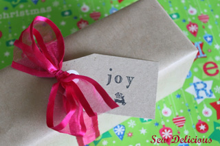 Thrifty Gift Tags
