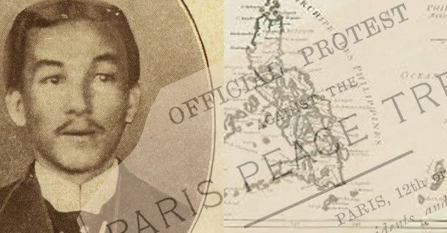 Photo of Don Felipe Agoncillo from NCCA on Flickr.  Old Philippines map from Paulus Swaen.