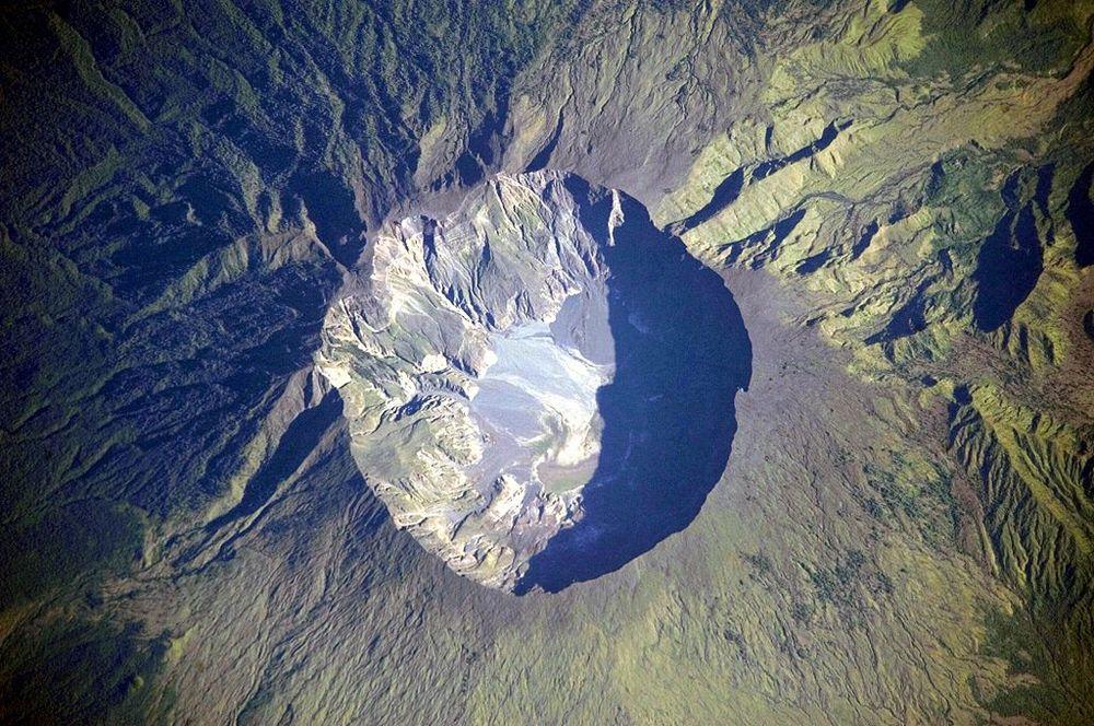 caldera of Mount Tambora